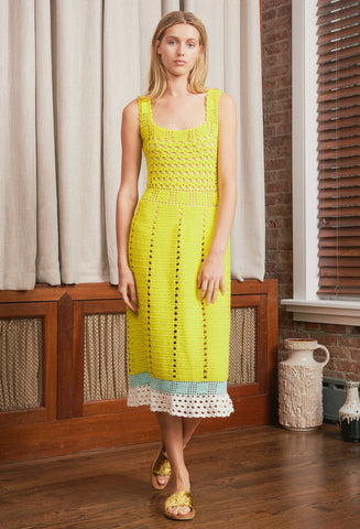 SINTRA YELLOW DRESS