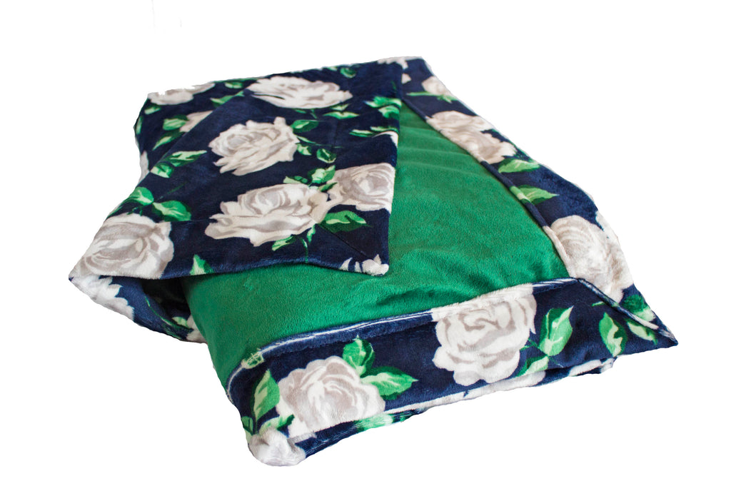 Everything is Coming up Roses with Plush Emerald Cuddle