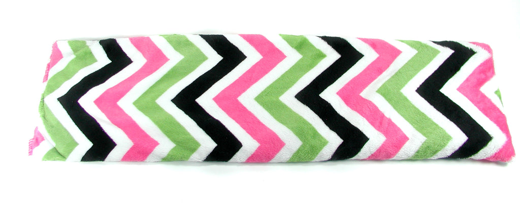 Chevron Pink/Jade/Black