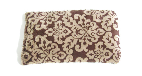 Damask Brown and Gold