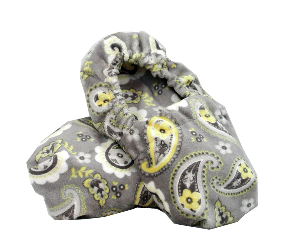 Paisley Gray and Yellow