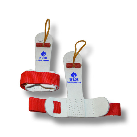 US Glove Gymnastics Grips - Women's Leather Cuff Hot Shot - Elite Gymnastics Academy Proshop  - 1