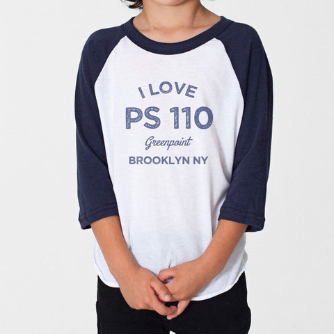 I love PS 110 Kids T Shirt