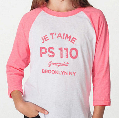 Je t'aime PS 110 Kids in Pink
