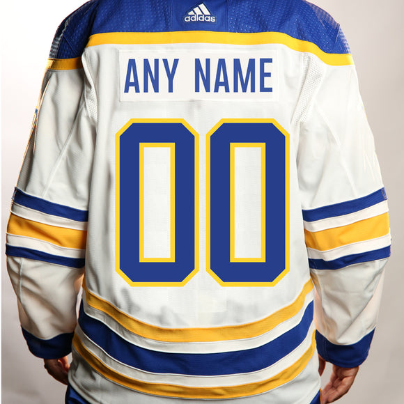 *PRE-SALE* Adidas Authentic White Custom Jersey
