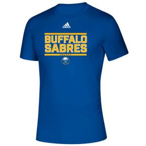 Buffalo Sabres Adidas Royal Tee