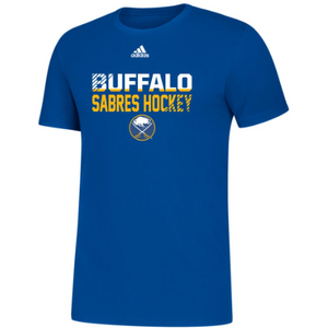 Buffalo Sabres Adidas Cotton Royal Tee