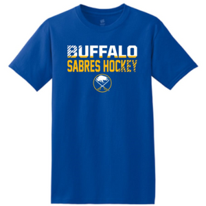 Buffalo Sabres <b> YOUTH </b> Royal Tee