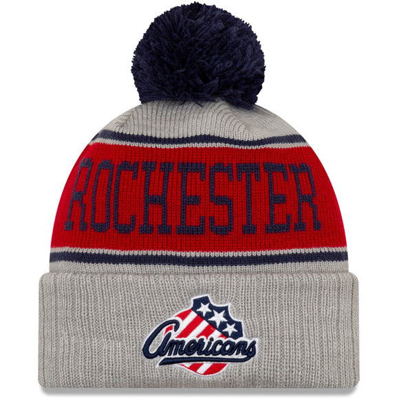 New Era Rochester Americans Pinstripe Knit Hat