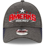 New Era Rochester Americans Graphite Visor 9Forty Adjustable Cap