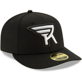 New Era Rochester Knighthawks Black 59Fifty Fitted Cap