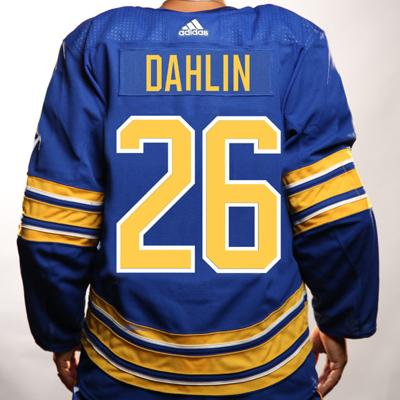 Buffalo Sabres Adidas Authentic Royal DAHLIN Jersey