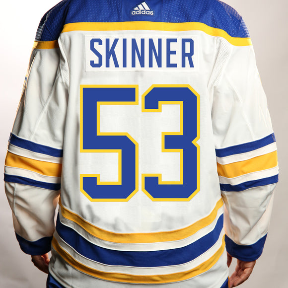 Adidas Authentic White SKINNER Jersey