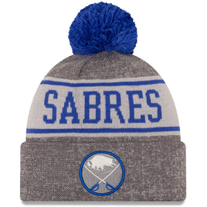 Buffalo Sabres New Era Knit Banner Beanie
