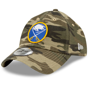 Buffalo Sabres New Era Casual Classic Camo 9Twenty Adjustable Cap