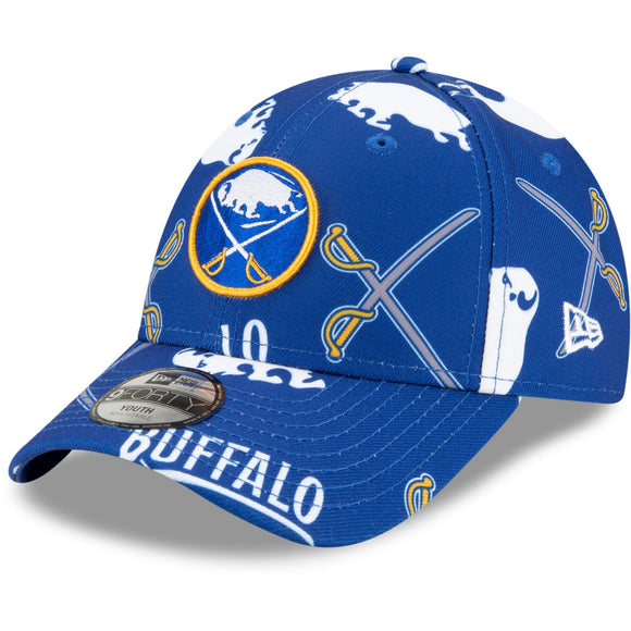 Buffalo Sabres New Era YOUTH Biggest Fan 9Forty Adjustable Cap