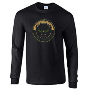 Rochester Knighthawks Black Long Sleeve Tee