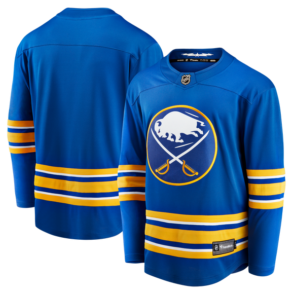 *PRE-SALE* Sabres <b> Women's </b> Fanatics Replica Royal Blank Jersey