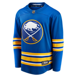 Sabres Fanatics Replica Royal Blank Jersey