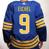 Buffalo Sabres Adidas Authentic Royal EICHEL Jersey