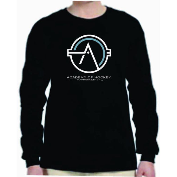 Academy of Hockey Gildan Youth Long Sleeve Tee