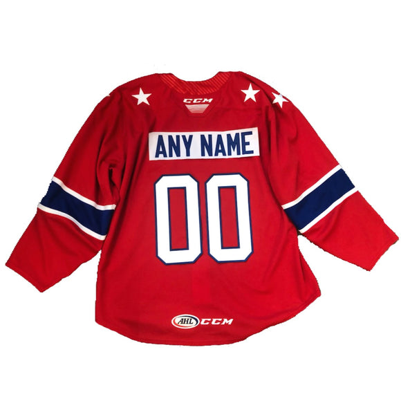 Rochester Americans CCM Red CUSTOM Jersey