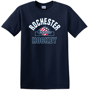 Rochester Amerks Youth Navy Tee