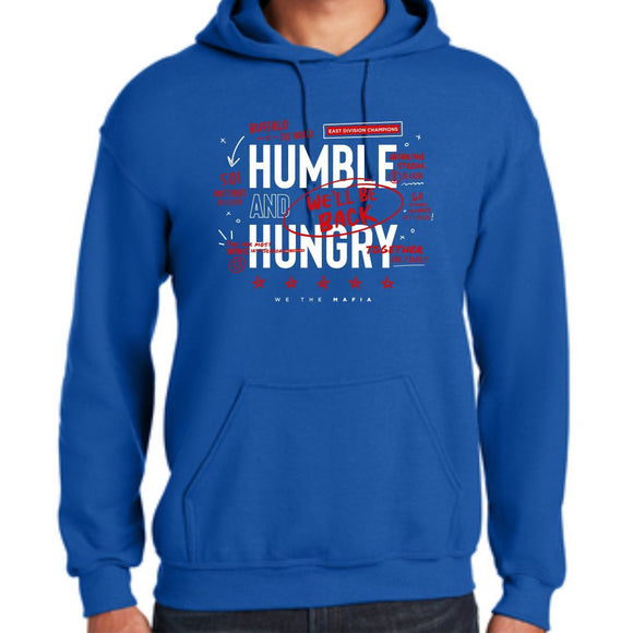 *PRE-SALE* Buffalo Bills Humble and Hungry Royal Fleece Hoodie