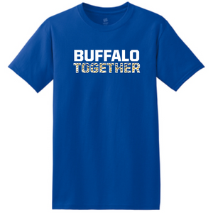 Sabres Together Royal Striped Tee