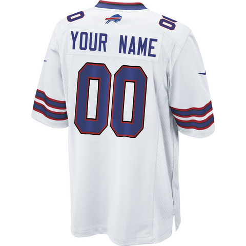 Bills Jersey: Custom Away Game NFL Jersey