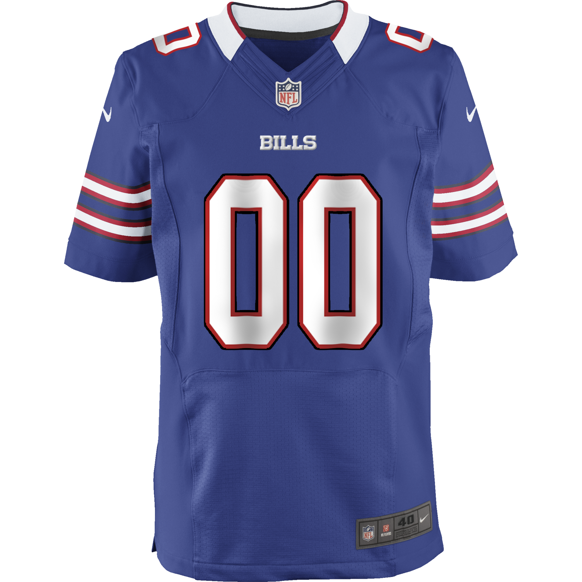 Bills Youth Jersey: Custom Home Game NFL Jersey – Shop One Buffalo
