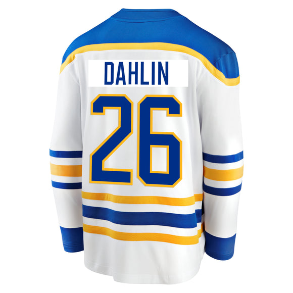 *PRE-SALE* Sabres Fanatics Replica White DAHLIN Jersey (Youth Sizes Available)