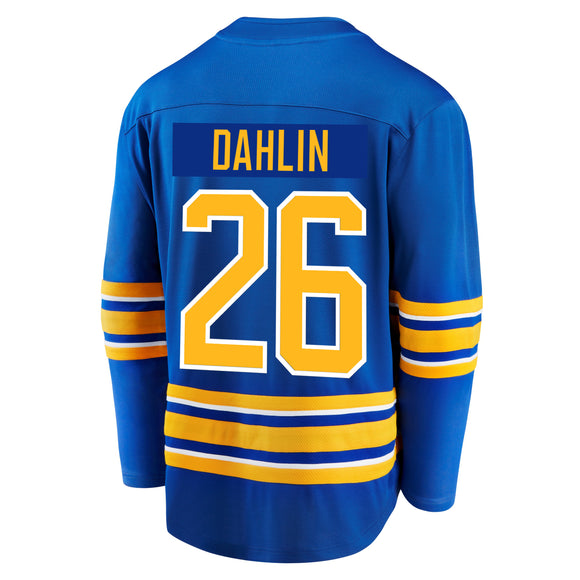 Sabres Fanatics Replica Royal DAHLIN Jersey