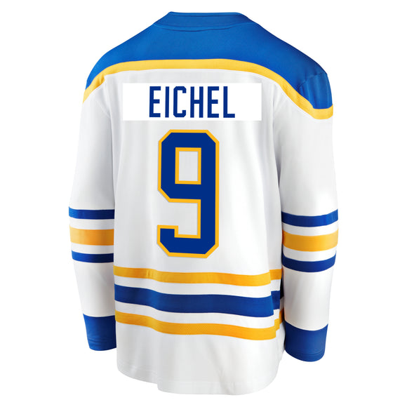 *PRE-SALE* Sabres Fanatics Replica White EICHEL Jersey (Youth Sizes Available)