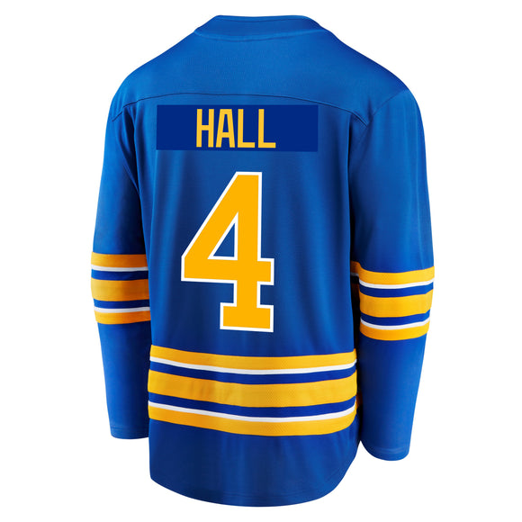 Sabres Fanatics Replica Royal HALL Jersey
