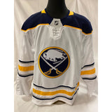 Buffalo Sabres Blank Team Issued White Jersey