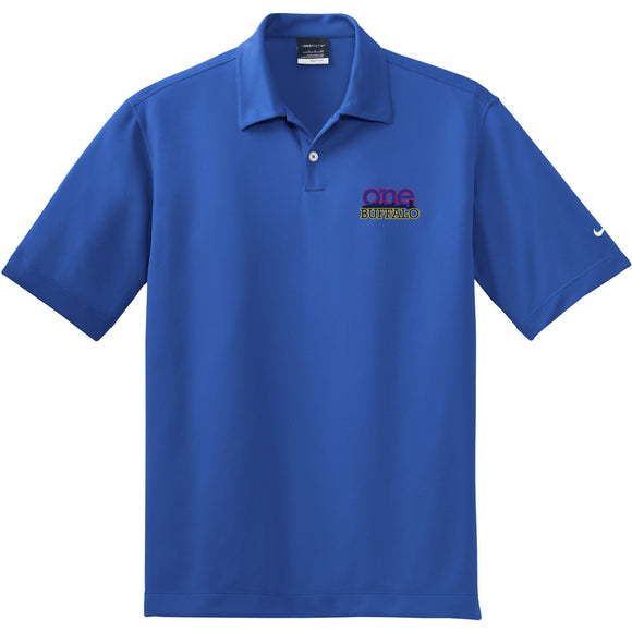 Nike One Buffalo Royal Pebble Polo