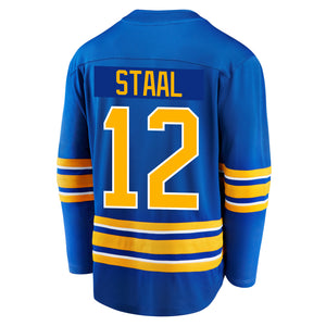 Sabres Fanatics Replica Royal STAAL Jersey