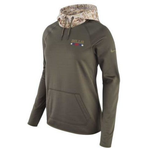 Buffalo Bills Women's Therma Salute to Service Hoodie