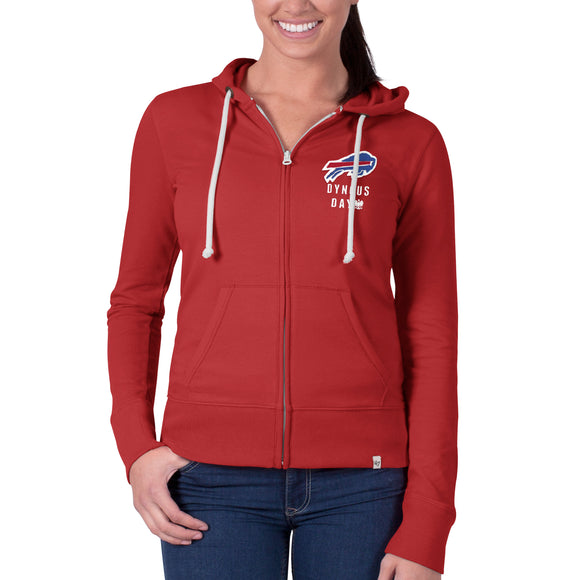Bills Womens Dyngus Cross Check F/Z Hoody