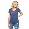 Bills Womens Iced Scrum Scoop Tee