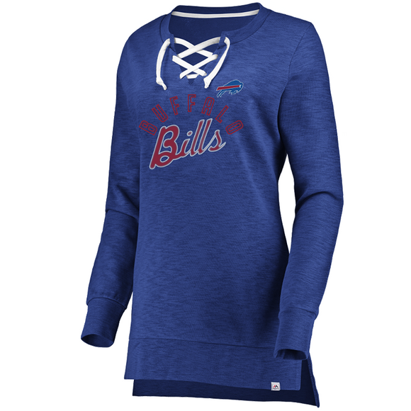 Buffalo Bills Women's Hyper Lace Up Tunic