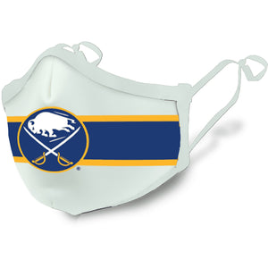 Buffalo Sabres White Face Covering