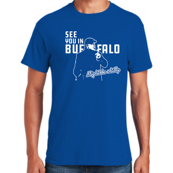*Pre-Sale* Tasker Chilly in Buffalo Royal S/S Cotton Tee