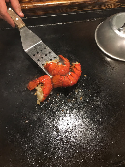 Lobster on Hibachi