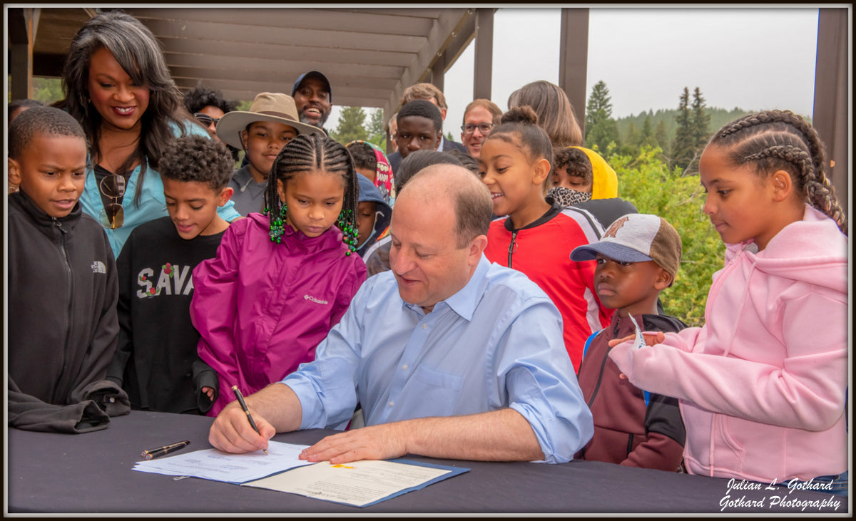 Governor Jared Polis at Lincoln Hills