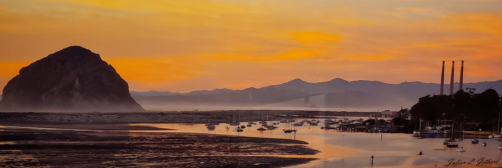 Morro Bay Estuary Sunset