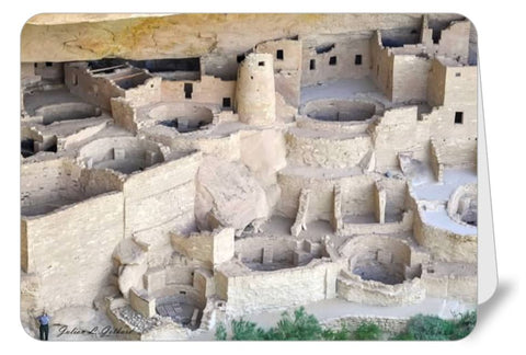 Anasazi Cliff Palace at Mesa Verde