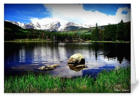 Sprague Lake RMNP Greetings Card