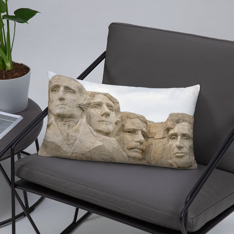 Mount Rushmore's Four Presidents